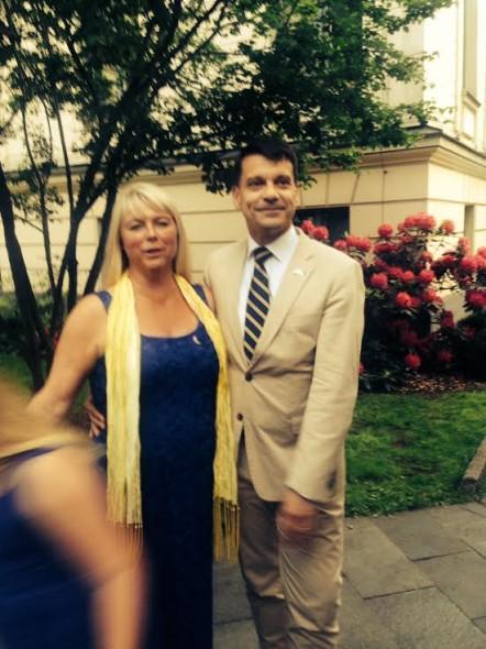 Ambassadören med fru