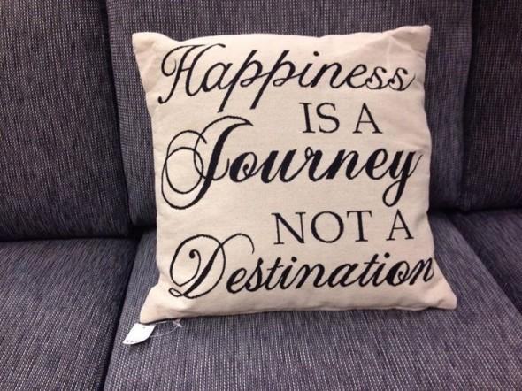 Citat lyckan är en resa inte mål