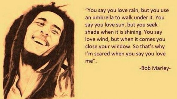 Kärlek Bob Marley